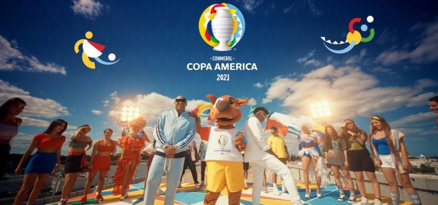 Gente de Zona en La Gozadera tema de la Copa América