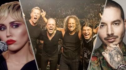 Metallica y otros artistas