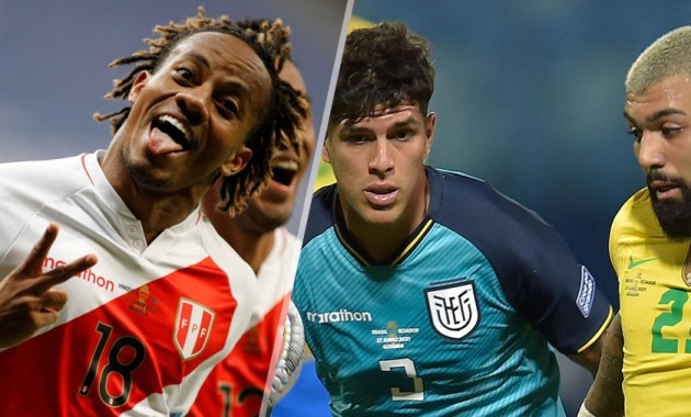 Perú vs Venezuela y Brasil vs Ecuador(Copa América 2021)