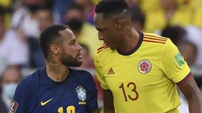 Neymar y Jerry Mina