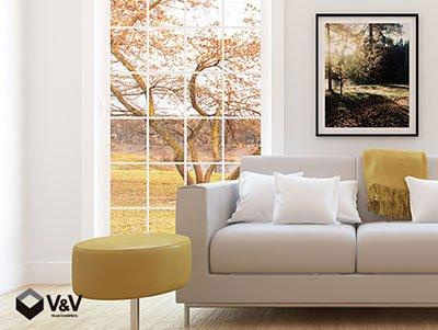 Elige los cuadros decorativos ideales para tu depa
