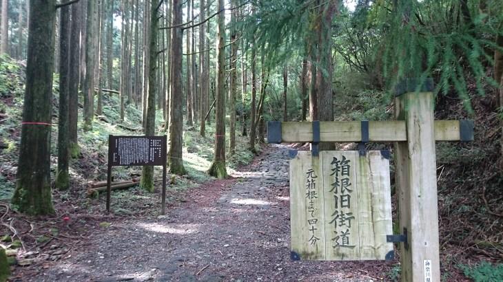 【ハイキング】箱根旧街道・前編(箱根湯本駅~甘酒茶屋)20170903