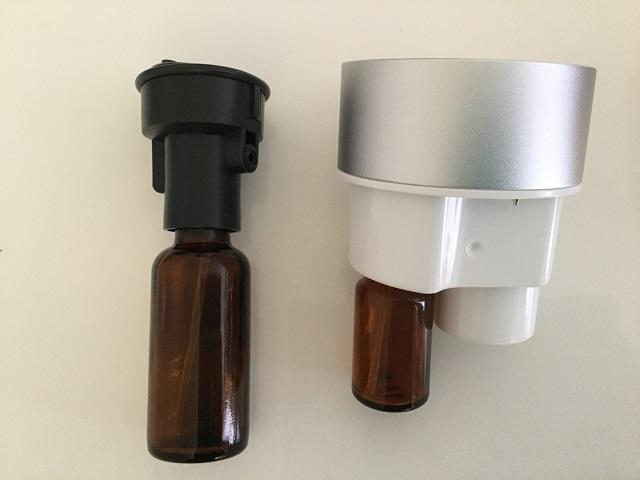 ボトルの大きさの違い アロモアとアロモアミニ