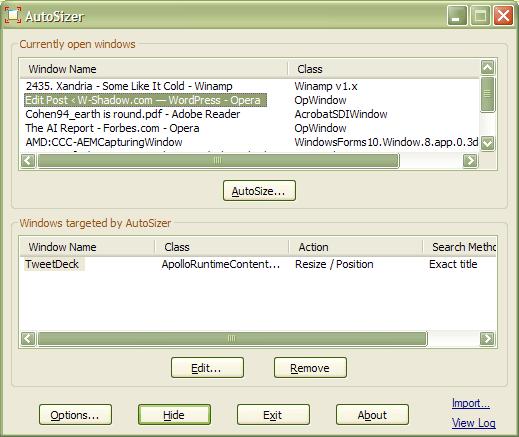 Make Any Application Remember Window Size | W-Shadow com