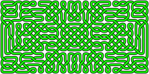 A more complex celtic knot