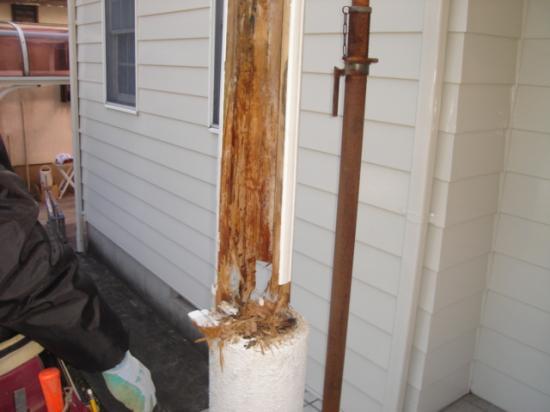 柱の解体2