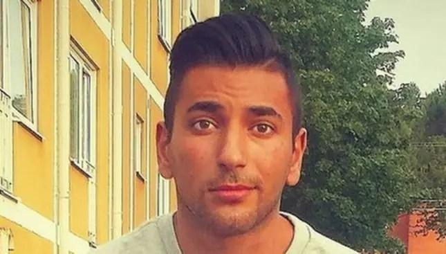 Alaa Farraj, 21, var en av personerna som sköts i Uddevalla