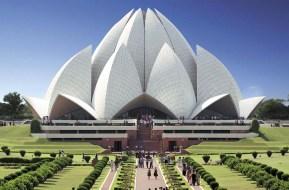 Baha'i Lotus Temple New Delhi India
