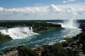Niagara Falls New York USA Ontario Canada