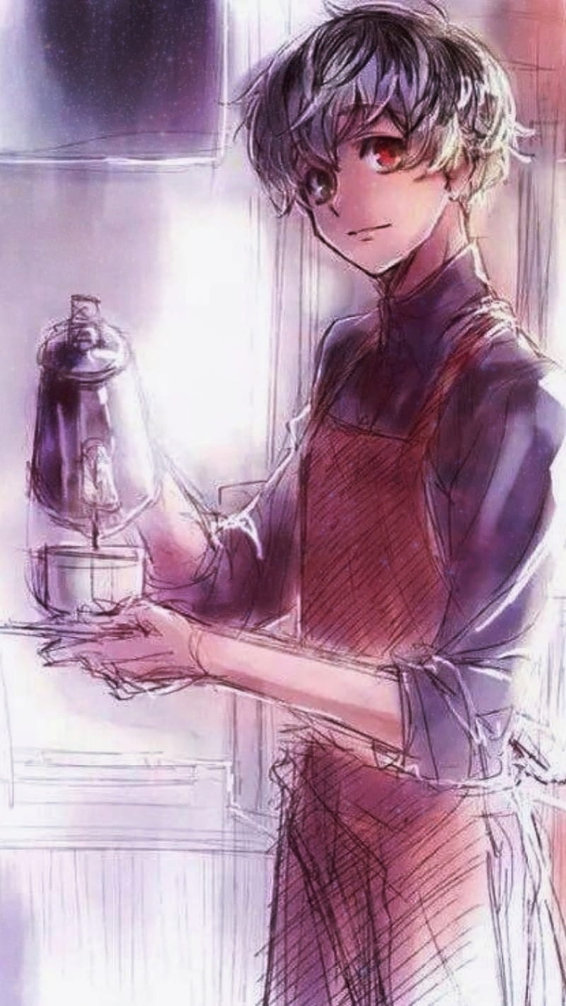 Kaneki And Coffe Aesthetic Anime Tokyo Ghoul Hd Mobile Wallpaper Peakpx