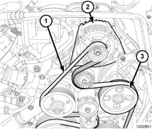 2011 Dodge Ram 2500 Serpentine Belt Diagram | Online