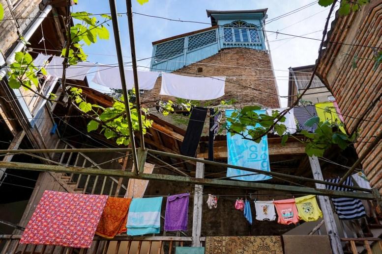 Uroki starego miasta w Tbilisi