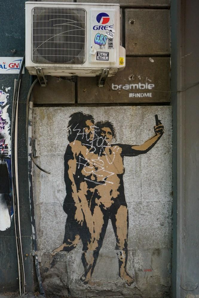 Streeart w Tbilisi