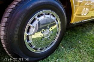 Oldtimermarkt Bockhorn 2014 - Mercedes Benz Felgen poliert