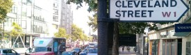 Cleveland Street Polluted by Euston Road