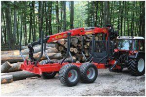 materiel forestier marche