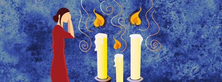 shabbat candle lighting let there be
