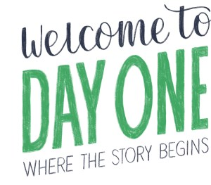 Welcome to Day One - Bespoke Podcast Production in Newcastle_Logo