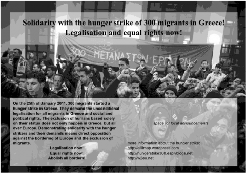 European Week of Solidarity with the hunger strike