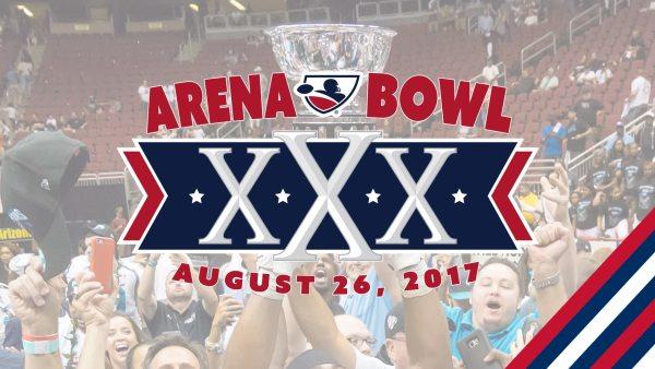 ArenaBowl XXX Logo