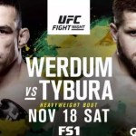 MMA 2 the MAX: UFC Fight Night 121: Werdum vs Tybura Review