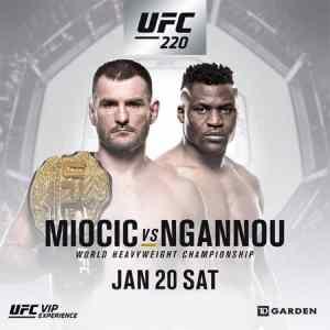 UFC 220 Preview