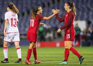 USWNT Blowout Denmark