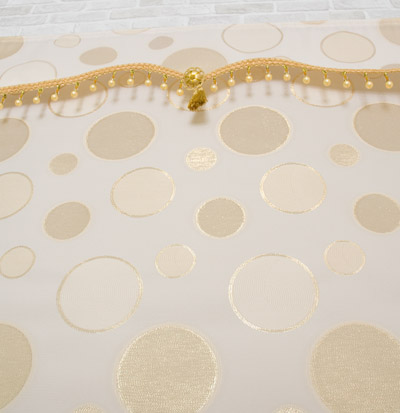 Space Gold Roll Screen by Aracne