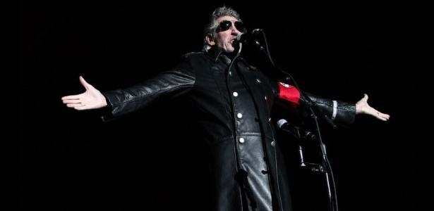 "Roger Waters durante turnê ""The Wall Live"" em São Paulo"