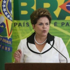 A presidente Dilma Rousseff superou índices de aprovação obtidos por FHC e Lula