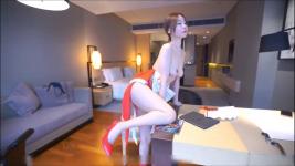 Beautiful Girl Chinese Body show and masturbation