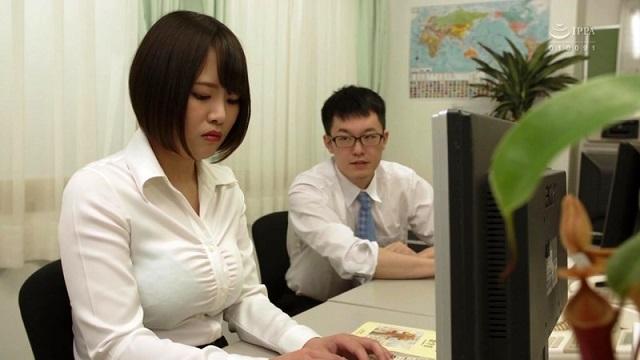 HBAD-515 A Female Teacher Gets Her Big Tits Bukkaked - Mizuki Sanada