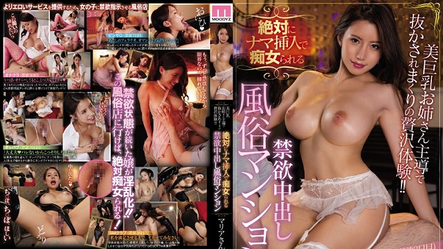 MIAA-178 Luxury Experience Led By Big Tits Older Sister! Slutty Raw Insertion Abstinence Creampie Sex Mansion: Maria Nagai