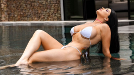 Romi Rain Exxtra Pounded By The Pool 02.07.2019