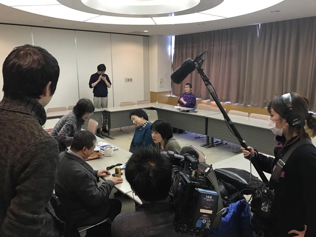 NHK青森放送さんの取材がありました