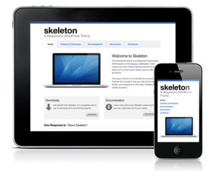 Skeleton WordPress Theme