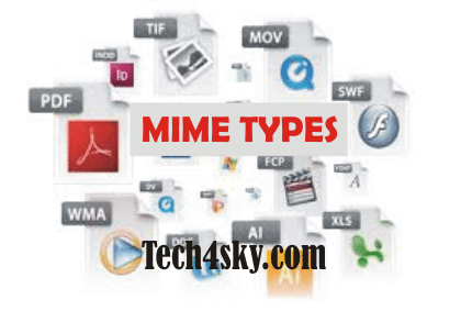 Ultimate List of File extensions and their mime types