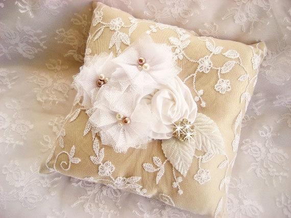 ring pillow ideas alternatives