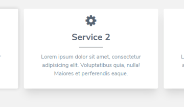 Responsive Service Section In Tailwind CSS