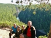 Roy Dorothy Emily and Jim at Barron Canyon Trail