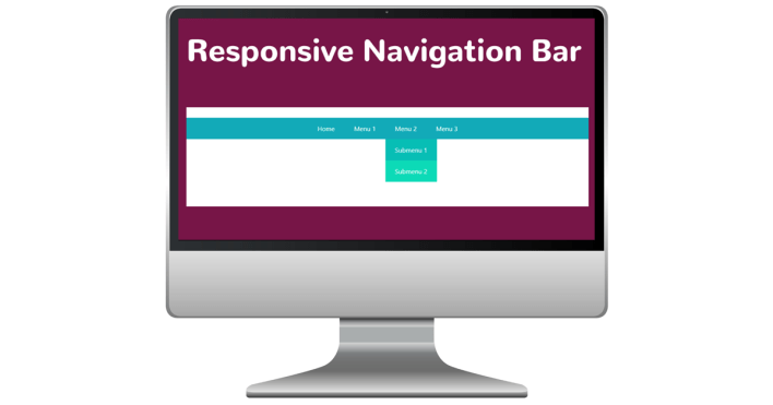 How to create a responsive navigation bar
