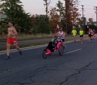 handicapped runner