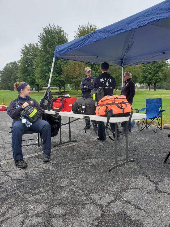 EMTs at rest stop 1