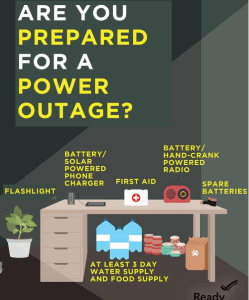 Are you prepared for a power outage