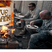 Thanksgiving on Combat Outpost Cherkatah Khowst Province, Afghanistan (U.S. Army)