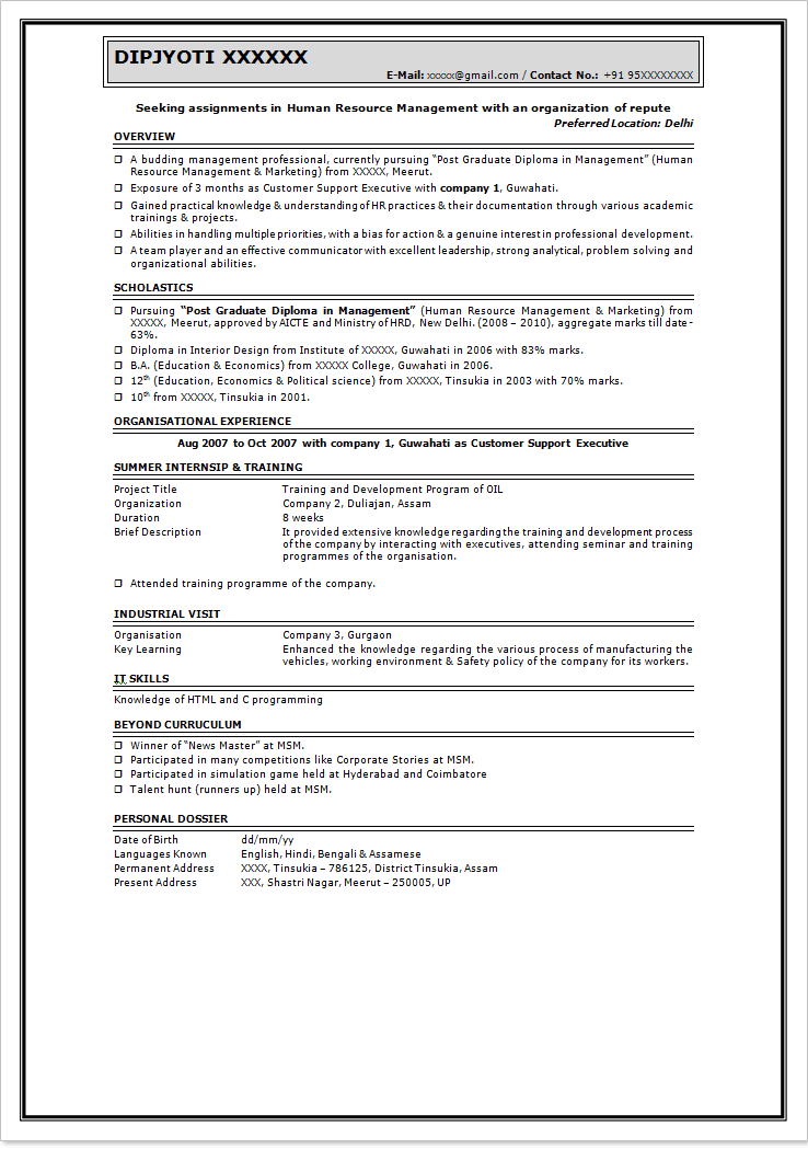 Skills For Resume Examples Pdf Niceresumeformatforfreshers Updated Resume  Template For Fresher Difference Between Resume And Cv Excel With Resume Star  Resume Star