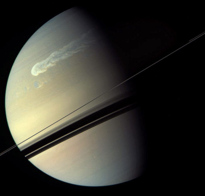 saturn_storm_cassini_global_color_regan_20110206