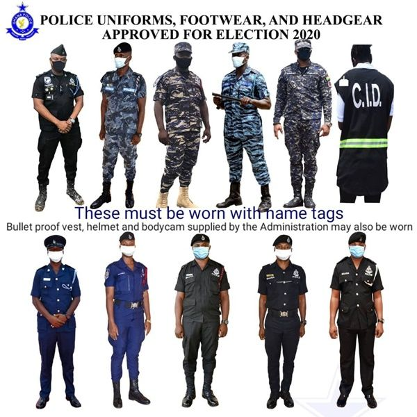 See the uniforms Police Officers will wear on Election Day. 4