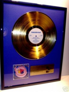 Jimmy Somerville Gold Award Bronski Beat Hundreds and Thousands