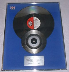 Silver Award Bronski Beat Hit That Perfect Beat